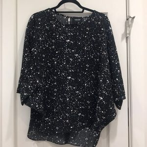 Rachel Comey Oversized spotted blouse